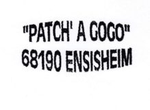 Association Patch à Gogo